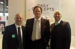 Simon Smeke and Emilio Smeke of Daily Concepts, with Mark Kremer