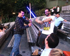 Conkle Firm Light Saber Battle at Star Wars at Hollywood Bowl 2018