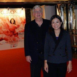 John Conkle, Kim Sim at Cosmoprof Asia 2014