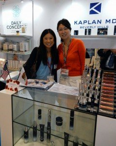 with Grace Huang, Distributor for Kaplan MD Beverly Hills
