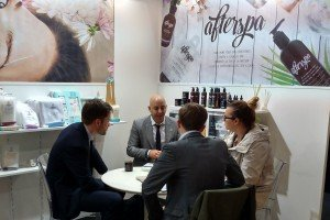 Daily Concepts and Afterspa in California Pavilion at Cosmoprof Bologna 2016