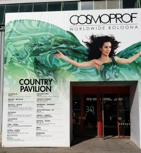 California at Hall of National Pavilions in Cosmoprof Bologna 2016