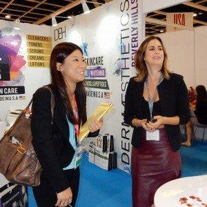 with Lori Leib of Bodygraphy Professional Cosmetics